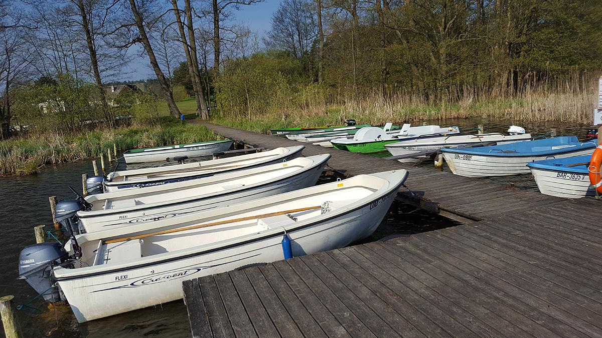 Einige unserer Boote